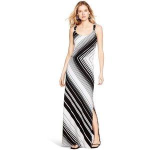 White House Black Market striped maxi dress XS